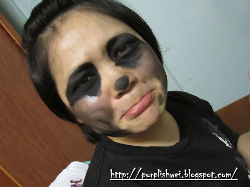 Makeup Gone Wrong Panda Eye D
