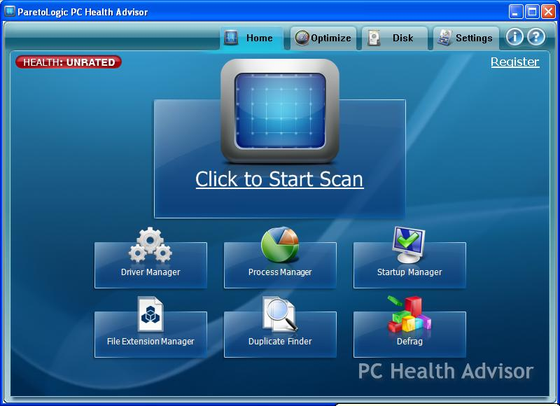 ParetoLogic PC Health Advisor 01