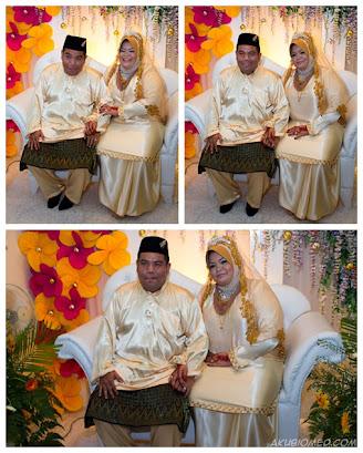 pengantin perempuan dan lelaki