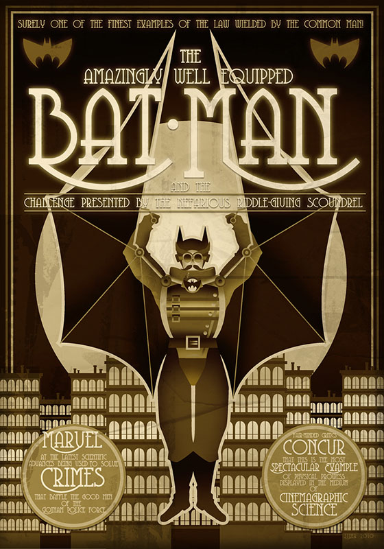 REMAKE Batman Steampunk, de Paul Sizer