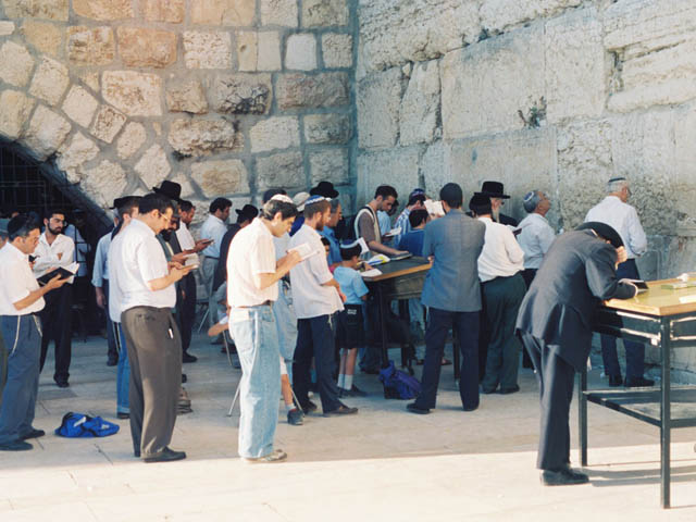 嘆きの壁@エルサレム