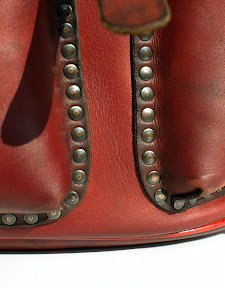 кожаный рюкзак ручной работы. авторская работа. № 77 Т