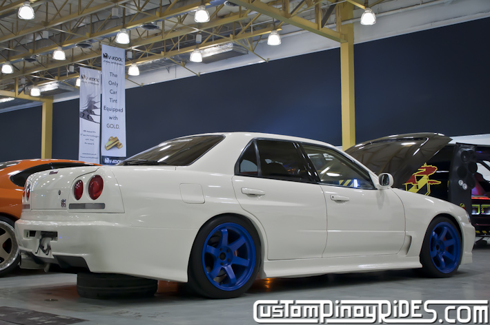 R34 Nissan Skyline Sedan Custom Pinoy Rides Car Photography pic1