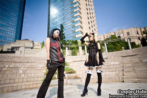 seikon no qwaser cosplay - alexander sasha nikolaevich hell and ekanterino katja kurae by kara and hizuki yuuki