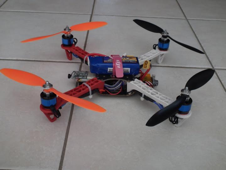 F330 FF devenu Dialfonzo spyder kk2.0 + FPV DSCF2872