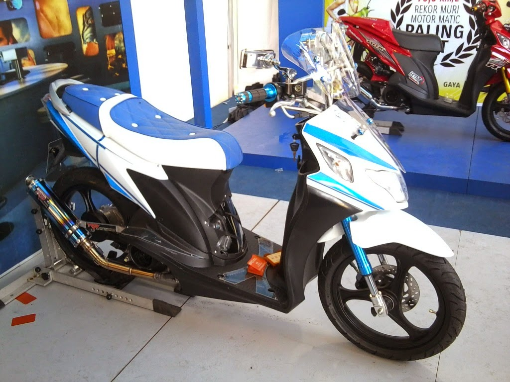 Suzuki Nex Fi Modifikasi
