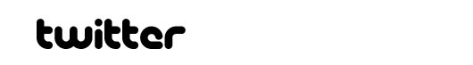 Pico font logo Twitter