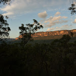 View of the escarpment from west of the Kedumba River (316274)
