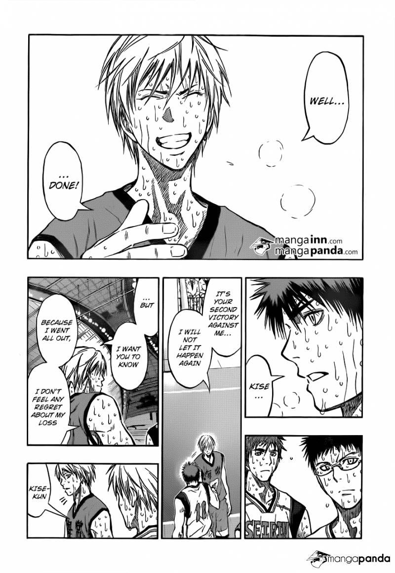 Kuroko no Basket Manga Chapter 203 - Image 06