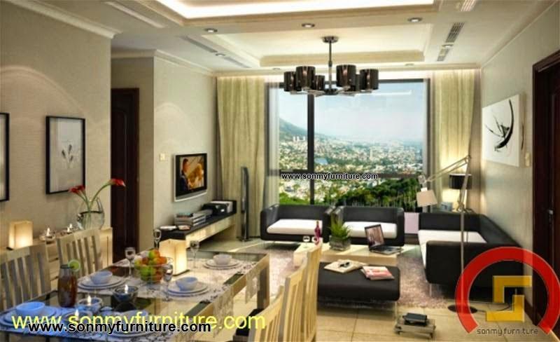 Mẫu nội thất  căn hộ SMF694