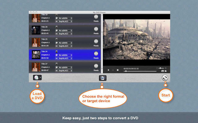 My DVD Ripper: Easy To Use DVD Converter Software