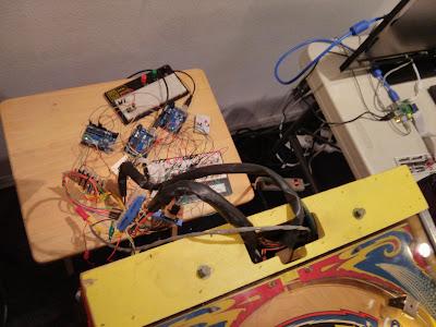 Fireball - wiring mess