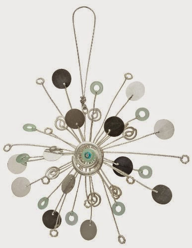 Christbaumkugeln Weihnachtskugeln GLAS SET Baumschmuck Weihnachten gl/änzend matt 4 St/ück; 70 mm Kupfer-ornaments-Blume