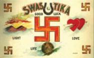 σύμβολο του έρωτα,σβάστικα πριν τον πόλεμο,Ναζιστική Γερμανία,symbol of love, swastika before the war, Nazi Germany