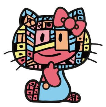 *Hello Kitty長嘴了:Javier Mariscal繪歪臉新面貌! 5