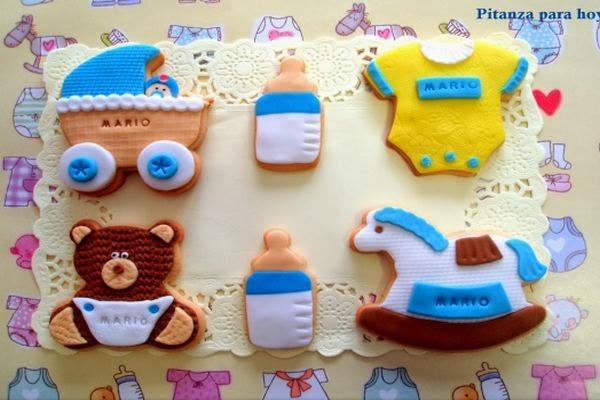 Recuerdos comestibles para baby shower