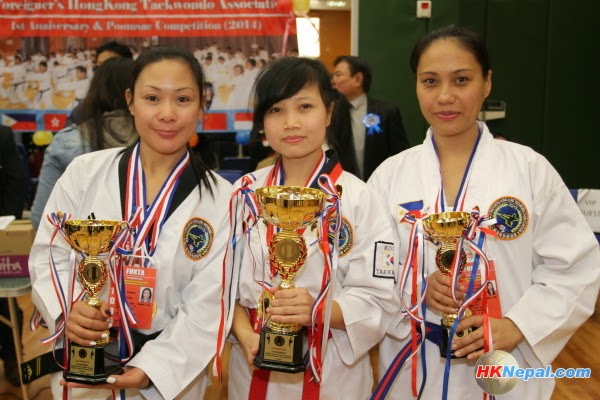 FHKTA 1st Anniversary & Poomsae Competition 2014 (Photo)