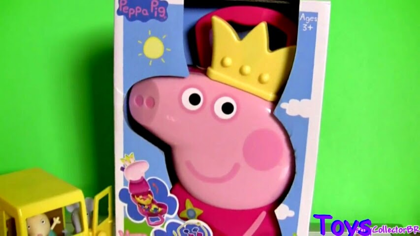 New Peppa Pig Castle Play Dough Playset Make Princess