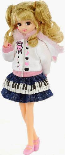 Cô bé Búp bê Licca Mint Active Doll thật đáng yêu