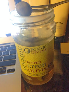 Amazing Organic Divina pitted green olives