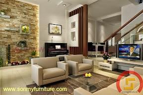 Mẫu thiết kế nội thất  căn hộ 720