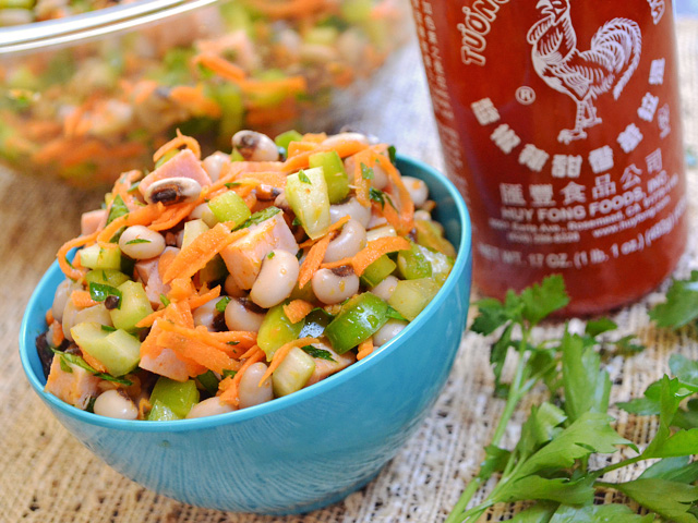 Spicy Hoppin' John Salad