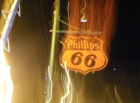 Phillips Route 66 con Long expo, fotos