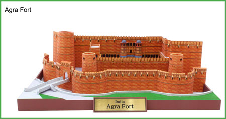 Agra Fort Papercraft