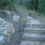 Stairs below Govetts Leap Lookout (51215)