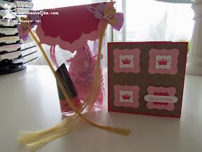 Stampin Up Framelits Blütenrahmen, Geschwungenes Etikett, Geschwungenes Mini-Etikett, Galante Grüße