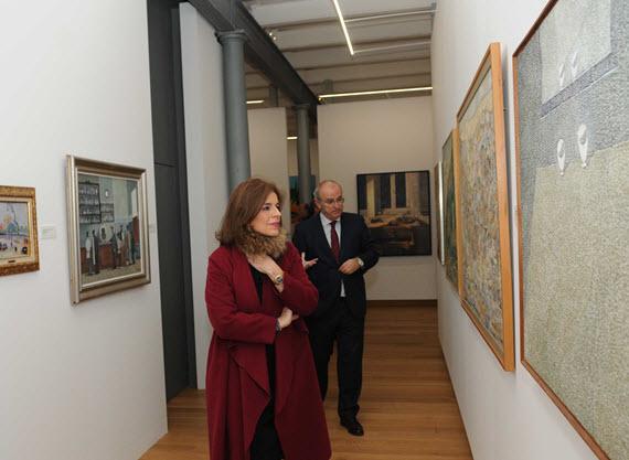 Inauguradas dos salas del Museo Contemporáneo en Conde Duque