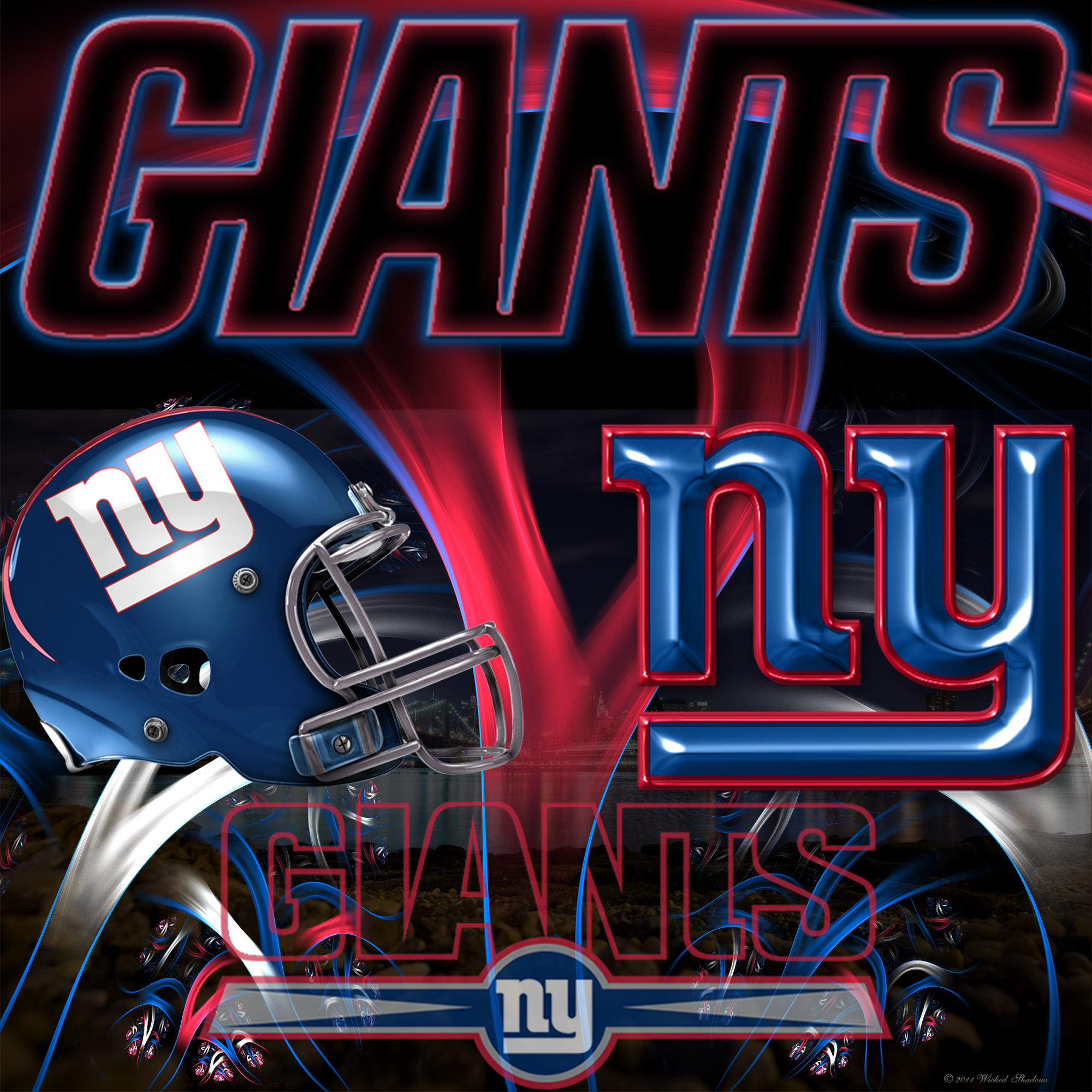 wallpapers by wicked shadows new york giants wicked wallpaper