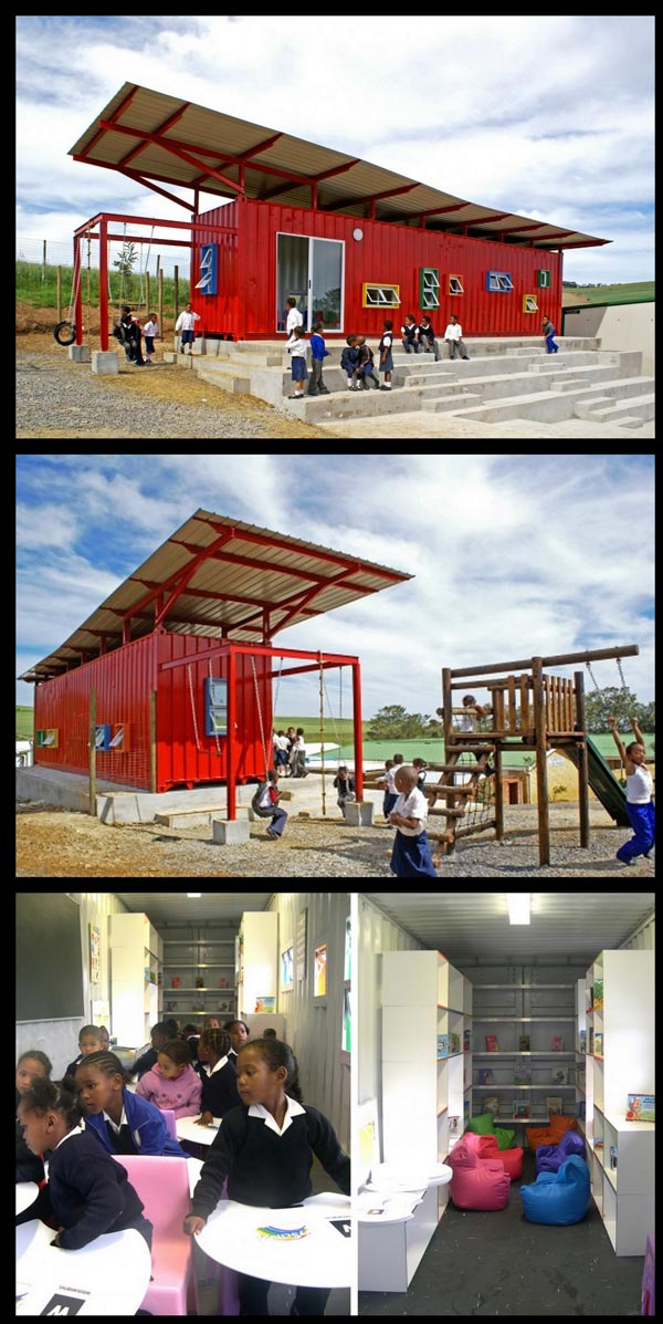Awesome blog awesome cool vissershok container classroom 8 pictures - Vissershok primary school shipping container classroom ...