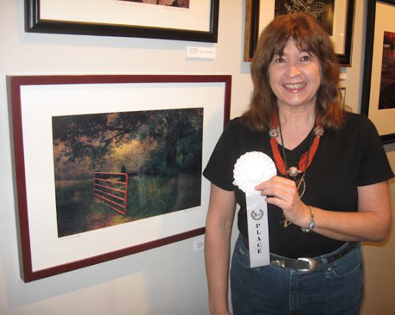 """Third Place: Beth Goyer """"Red Gate in the Fog"""""""