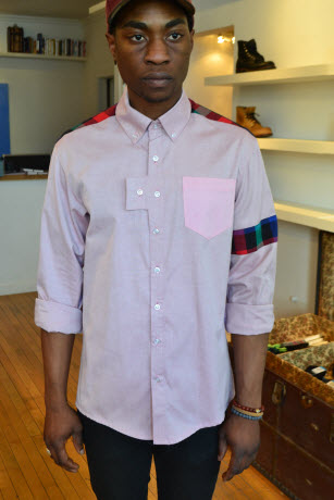 Vividbraille: Fashion from Chicago! [men's fashion]