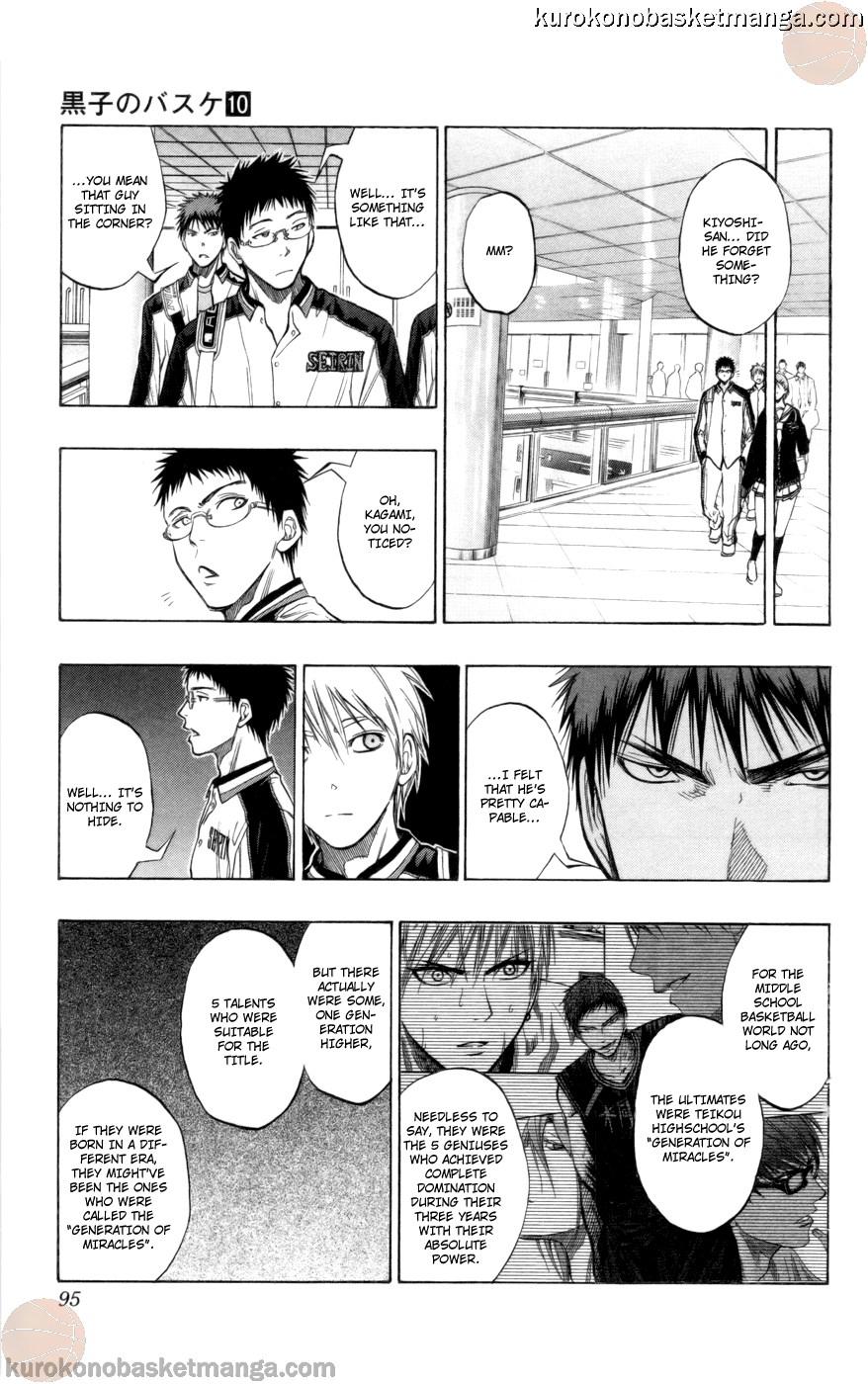 Kuroko no Basket Manga Chapter 85 - Image 09