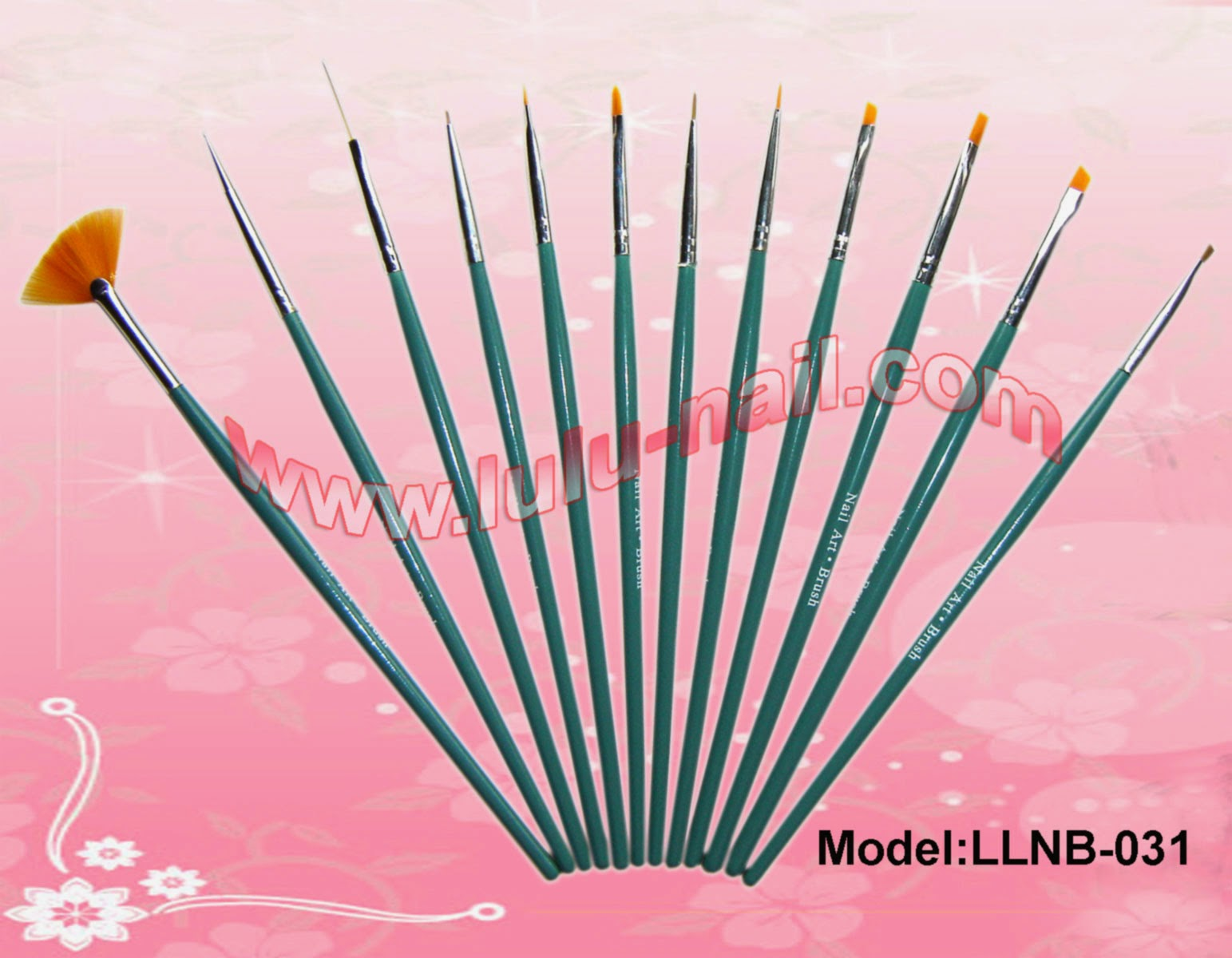 nail art brush set boots