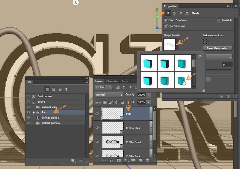 Photoshop - เทคนิคการสร้างตัวอักษร 3D Glowing แบบเนียนๆ ด้วย Photoshop 3dglow19