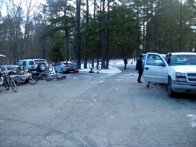 Berryman Trail Parking Lot