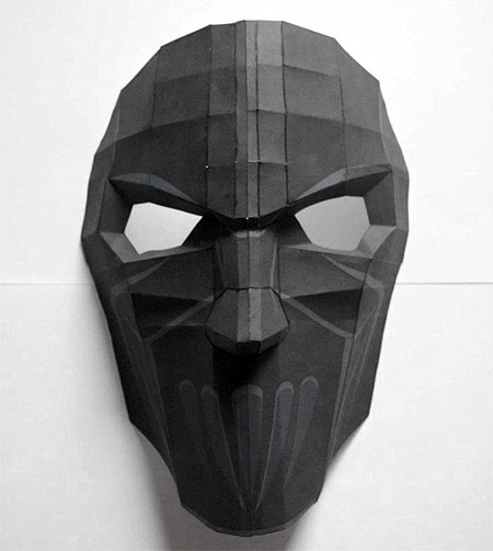 Slipknot Mask Papercraft Mick Thompson