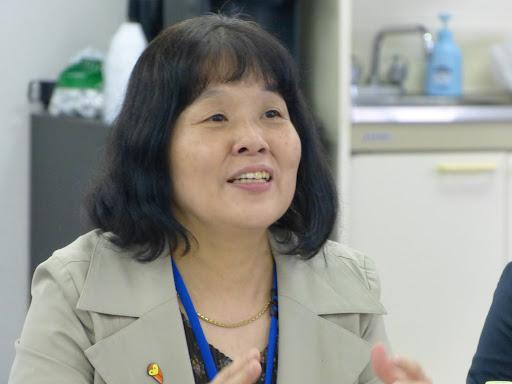 勝野とわ子幹事(広報担当)