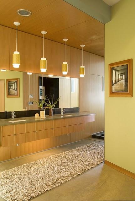 6 Дизайн интерьера деревянного дома в Вашингтоне, США ФОТО