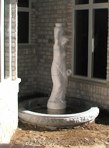 carved stone fountain, estate fountain, Exterior, Fountains, garden fountain, garden fountains, granite fountain, outdoor fountains, Statue, stone fountain, stone garden fountain