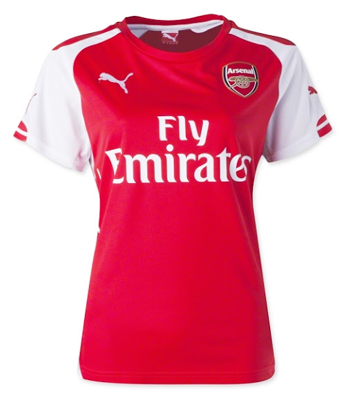 Jual Jersey Arsenal Home Ladies Terbaru 2014-2015