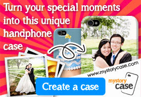 special customised phone casing wedding photo