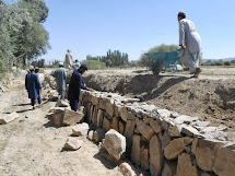 We teach the Afghanese people to identify disasters and to prevent them