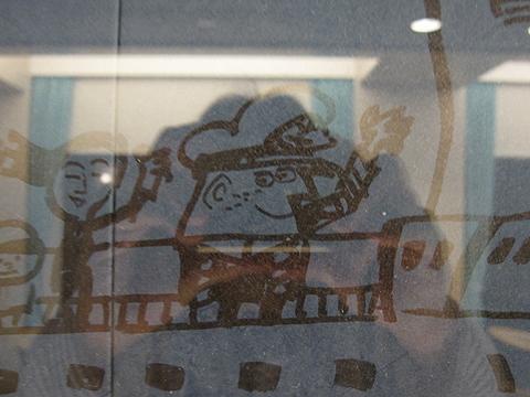 太平洋フェリー「新いしかり」 柳原先生壁画 その2