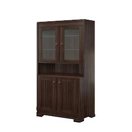 hillside corner cabinet