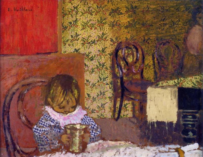 Édouard Vuillard - Child at the Table