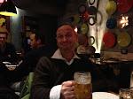 Stuart at the Indian restaurant